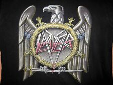 Vintage SLAYER Concert Shirt 1990 Tour In The Abyss Size Lg Original Metal
