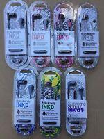 SKULLCANDY INK'D 2 Ink D 2.0 INKD 2 Earphone Earbuds with Mic Headset Brand New