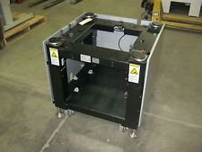 """Word Table Base, Pneumatic Self Leveling System, 29"""" x 29"""" x 30"""" w/ Casters&Feet"""