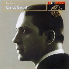 Carlos Gardel ‎– The Best Of CD Mint Tango 1997 Hemisphere 8 23505 2