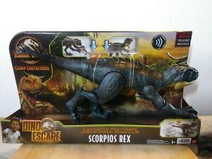 Jurassic World Camp Cretaceous Dino Escape Slash 'N Battle Scorpios Rex Figure