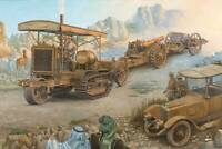 Roden 814 - 1/35 - Holt 75 Artillery tracktor W/BL 8-inch Howitzer plastic model