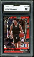 2020 Prizm Draft Picks Red Ice #12 Killian Hayes RC GMA 10 COMP TO PSA FRANCE