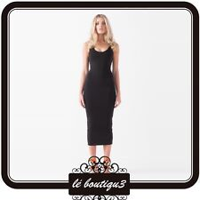 MOSSMAN Me And Miss Jones Bodycon  Dress Black RRP $99.95 Size 6