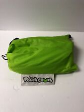 The Official Pouch Couch As Seen On TV Inflatable Air Lounger, Green