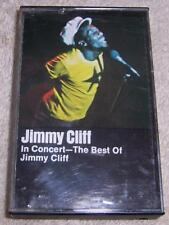 Jimmy Cliff In Concert The Best of Jimmy Cliff Audio Cassette