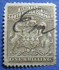 1892 RHODESIA 1S SCOTT# 9 S.G.# 4 USED CS09933