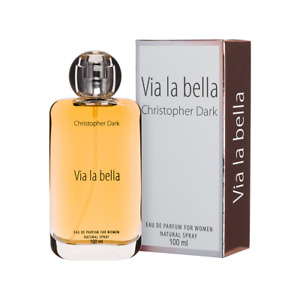 Christopher Dark Via la bella Eau De Parfum Natural Spray for Women 100ml