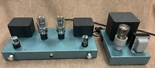 Custom built Single-ended 2A3 tube pure class A stereo amplifier & power supply