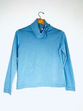 TALBOTS Soft Blue Pullover Turtleneck Sweater Size Small Petite