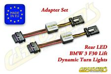 BMW 3 - F30 Lift - Semi Dynamic LED Adapter Set - Rear LED Dynamic Turn Signal