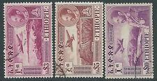 1947-55 ETIOPIA POSTA AEREA USATO TRE ALTI VALORI - R12-3