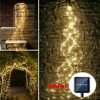 200/300 LED Tree Vine Waterfall String Light Copper Wire Fairy Garden Decor Lamp