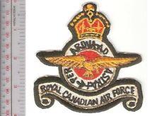 Canada Royal Canadian Air Force RCAF Second World War WWII Blazer Patch