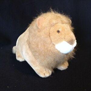 "Vintage 24K Polar Puff Plush Lion 7"" 1994 Special Effects Tush Tag Cute"