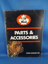 MACK TRUCKS PARTS & ACCESSORIES CATALOG 1984 TRANSPORT REPAIR