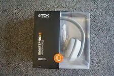 TDK Life on Record ST560s Smartphone Over-The-Ear Headphones White - Remote