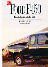 1997 Ford F-150 Flareside Truck Original Car Review Print Article J510