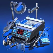 All-in-One Electric Soldering Iron Tools Kit Set Station Solder Welding Welder