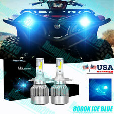 2007-2011 Yamaha Grizzly 60w Clear Headlight Bulb Lamp 550 700 FI EPS SE YFM550