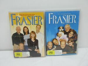 Frasier : Season 6 & 8 DVD 2011 8 Disc Set R4 PAL