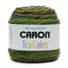 Caron Chunky Tea Cakes - Green Tea #20007 - 240g Balls Great Value