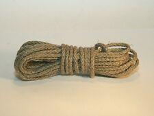 Gewichtsseil für Comtoise-Uhren, Seil, 3 mm, geflochten, natur