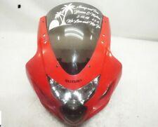 04 05 SUZUKI GSXR 600 750 FRONT UPPER NOSE FAIRING HEADLIGHT WIND SHIELD