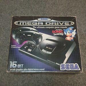 Sega Megadrive Console Boxed - 1 controller- comes with Sonic-See Description