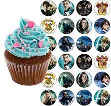 Harry Potter Eßbar Tortenbild Party Deko Muffinaufleger neu Cupcake Geschenk
