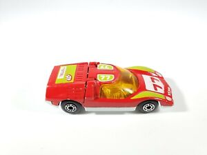 Lesney Matchbox Superfast Mazda Rx 500 No.66 #77 Red 1971 Made in England