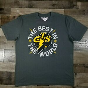 CM Punk GTS Best in the World T-Shirt 2XL Limited Edition WWE NXT Nexus rare