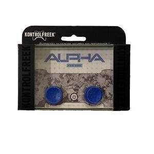 KontrolFreek Alpha Thumbsticks for PS4 PS5 New Blue FPS Freek PlayStation