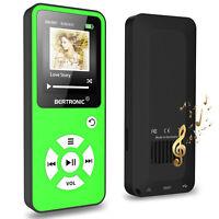 BERTRONIC Made in Germany BC01 64 GB MP3-Player - Grün - 100h - Schrittzähler FM