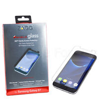 New Official ZAGG Invisible Shield Glass Screen Protector For Samsung Galaxy S7