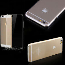 """For iPhone 6 4.7"""" Cover Transparent Hard Cases Cover Ultra-thin TPU Clear Covers"""