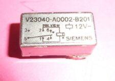 Relais  Siemens  V23040  DC 12 Volt   1x UM