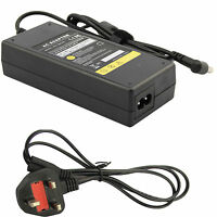 19V 4.74A Power Supply for Toshiba Satellite L500 L350 90W AC Adapter Charger UK