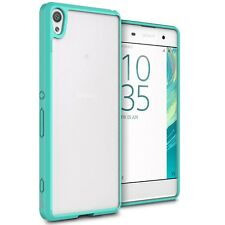 For Sony Xperia XA Case Hard Back Soft Bumper Hybrid Slim Cover