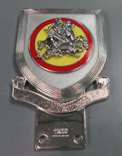 NOS CAR BADGE Knight Dragon J R GAUNT Never Installed Made in England SEE PICS!