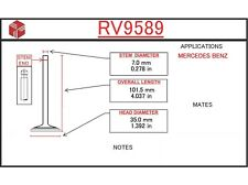 Engine Intake Valve ITM RV9589 fits 94-99 Mercedes S320 3.2L-L6