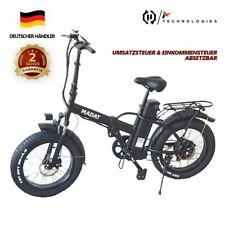 Faltbares Elektrofahrrad E-bike E-fatbike E-Faltrad 500wMotor 15 Ah Akku 20 Zoll