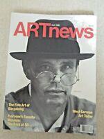 1986 ARTnews MAGAZINE Art News Joseph Beuys Miriam Schapiro Harold Edgerton Katz
