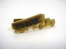 Vintage Tie Bar Clip: Truck Trucking Teamster Union Drive 1B OFT
