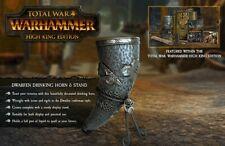 Warhammer Fantasy Dwarf Drinking Horn / Tankard Ltd. OOP Ceramic - D&D Cosplay