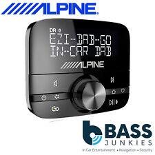 Alpine EZi-DAB GO AUTO DAB DAB + Digital Radio & A2DP lo streaming Bluetooth & antenna