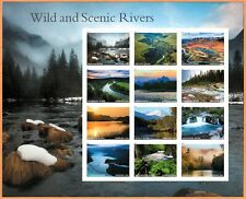 USA Sc. NEW (55c) Scenic Rivers 2019 MNH pane of 12