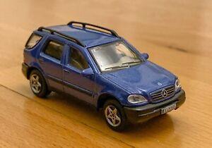 Modellauto Mercedes Benz M-Class - Hongwell in Blau #A18