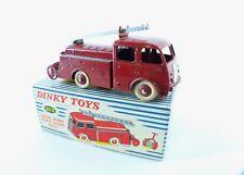 Dinky Toys F n° 32E  BERLIET Premiers secours de pompiers fire truck boite MIB