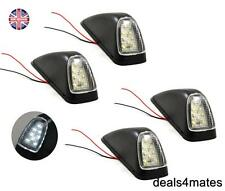 4X CAB LED MARKER LAMPS LIGHTS FOR VOLVO FH-FL(FH12) CABIN TRUCK 8 LEDS WHITE